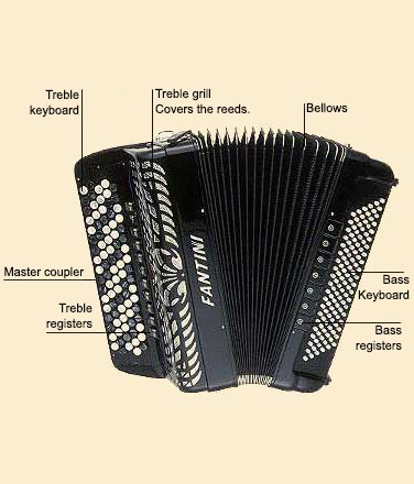picture of Accordion, button